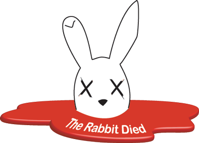 THE RABBIT DIED logo