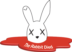 THE RABBIT DIED logo small